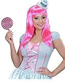 Horror-Shop XL Lollypop pink/weiß