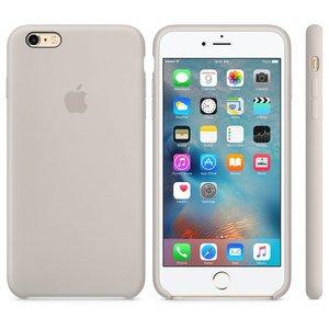 Coque arrière en silicone pour iPhone 6S Apple Blanc