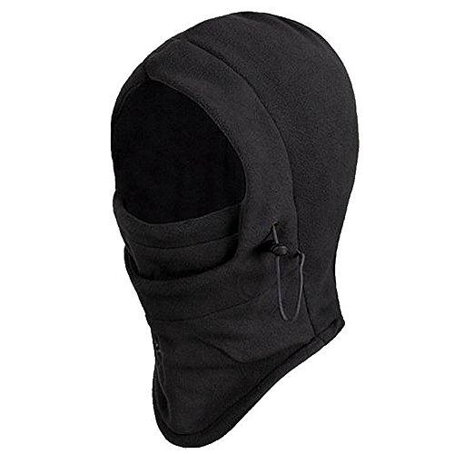 Trixes Balaclava, Thermo Sturm-, Kopfhaube aus Fleece, Hals-, Kopf- & Nackenwärmer in Einem - Sturmhauben & Masken (Kalten Kopf Maske)