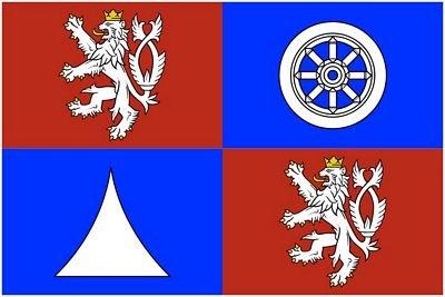 Fahne / Flagge Tschechien - Reichenberg 90 x 150 cm Flaggen