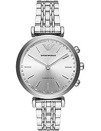 Emporio Armani Reloj Analogico para Mujer de Cuarzo con Correa en Acero Inoxidable ART3018