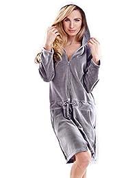 offizielle Fotos seriöse Seite Straßenpreis Suchergebnis auf Amazon.de für: Nicki Bademantel - Damen ...