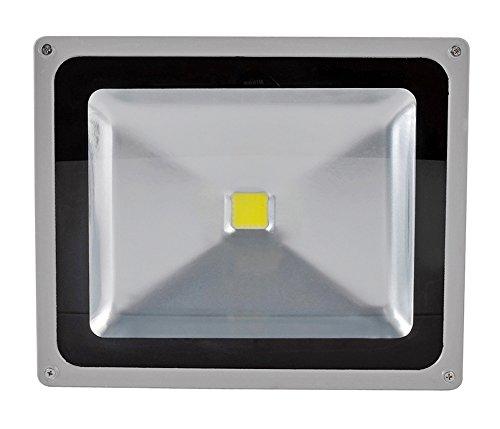 50W LED Fluter Strahler Warmweiss IP65 Wasserdicht LED Lampe Wandleuchter Flulicht Flutbeleuchtung LED Gartenlampe Außenstahler