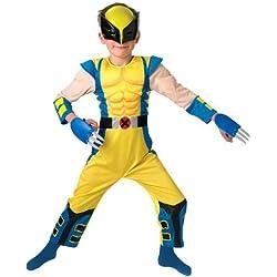Wolverine - Disfraz Lobezno X-Men para niño de 3 a 4 años (Rubies 886588S)