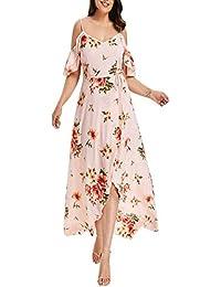 09fd295bdb2a DAY8 vestiti donna Eleganti Taglie Forti Estivi Vestiti Sera Donna Sexy  Senza Spalline Vestiti Carnevale Donna