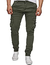 Red Bridge Herren Hosen / Chino Army (W34/L32, Khaki)