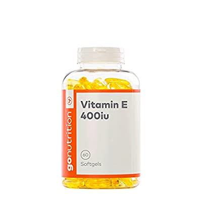 GoNutrition 400 iu Vitamin E Tablets - 60 Tablets from Monocore Ltd.