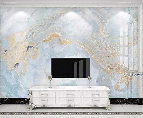 3D-Tapete moderne High-End-mikrokristalline Marmorfliesen fließen Gold Sofa Schlafzimmer TV Hintergrund Wanddekoration Malerei nahtlose Wand Tuch Vliestapete @ 200X140Cm