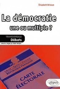 La démocratie une ou multiple ? par Elisabeth Brisson