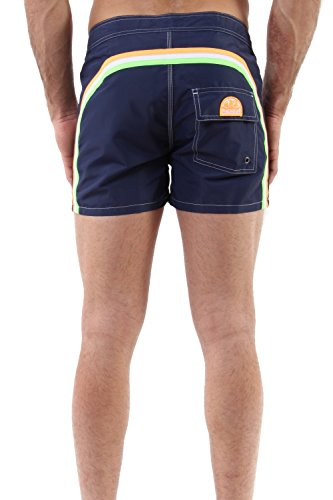Pantaloncino Mare Uomo Vita Fissa - Dark Blue #4 - Sundek - m502bdta100 411/dar/blu (32)