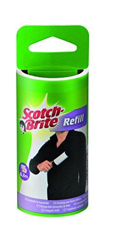 Scotch-Brite 49194 Ricambio per Spazzola Adesiva, Bianco