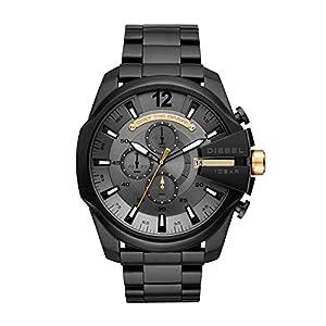Diesel Herren Chronograph Quarz Uhr mit Edelstahl Armband DZ4479