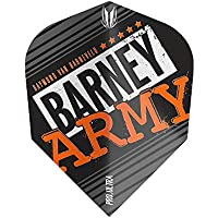 Target Darts Barney Army Flight-Pack of 3 Plumas para Dardos, Unisex Adulto, Negro, Kite