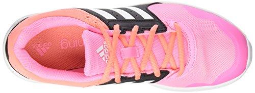 adidas Damen Essential Fun 2 Laufschuhe Rosa / Weiß / Schwarz (Briros / Ftwbla / Negbas)