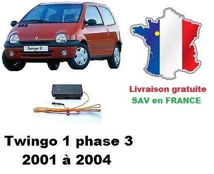 MJD Boitier de désactivation antidémarrage Renault Twingo 1 Phase 3