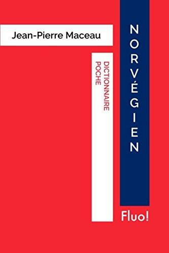 Dictionnaire Poche Norvégien par Jean-Pierre Maceau