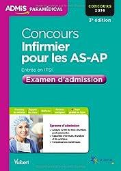 Concours Infirmier pour les AS-AP - Examen d'admission - Entrée en IFSI - Concours 2014
