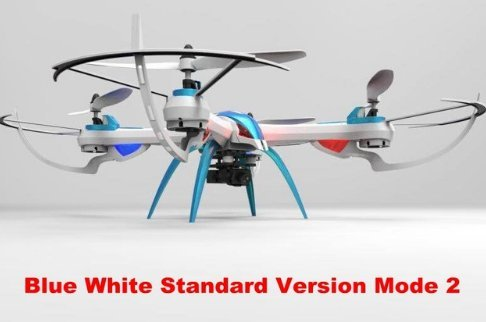 EuphonyTarantula X6 IOC LED 3D Flips RC Drones With 5MP HD Camera Quadcopter Toys
