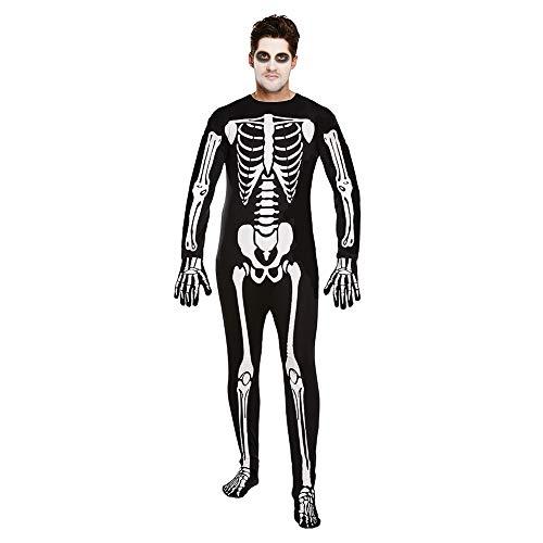 Halloween Adulto Esqueleto Mono Disfraz