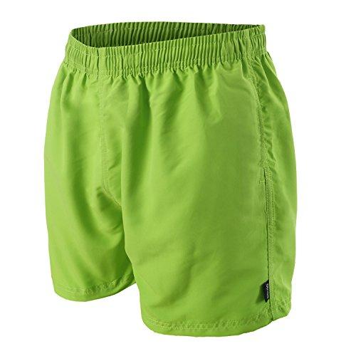 OAHOO Herren Badeshorts Lime Green-4XL -