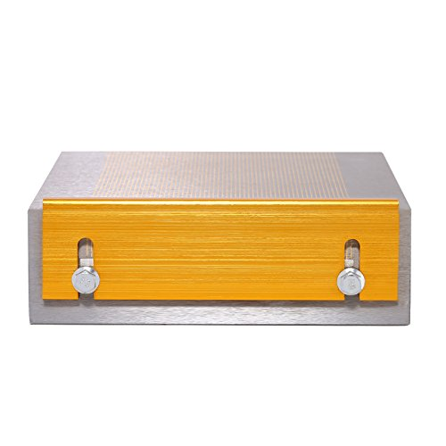 BananaB Lifting Magnet 150x150mm Magnetspannplatte Magnetfutter Permanente Spannplatte Magnettisch Lifting Magnet (150cm)