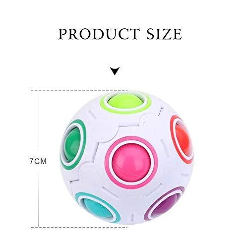 Magic Rainbow Ball Magic Cube Zauber Kugel Regenbogen Ball Twist Ball