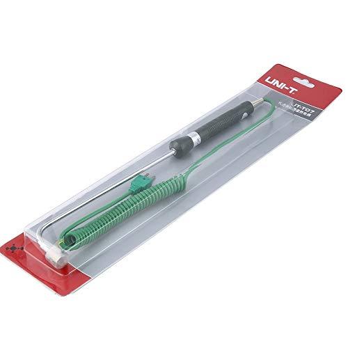 WEIWEITOE-DE Uni-T UT-T07 K-Typ Oberflächentemperatur-Thermoelement-Bereich -50 bis 500 Grad für Heißwalzenbehälter-Multimeter, grün, - Grade Multimeter