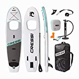 Cressi Kinilau SUP 10'6 '- Kit Complete Stand up avec Fenêtre, Paddle Sup Gonflable