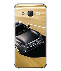 Fuson Designer Back Case Cover for Samsung Galaxy J3 2015 (Driving Racing Vintage Luxury Sports)