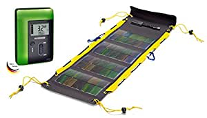 Sunload Solar Charger Set, Solarclaw 6,5Wp (gelb) mit M5