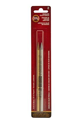 Koh-I-NOOR PROGRESSO graphit Bleistift Set, 6Grad, 2Bleistifte PRO Grad, 12Bleistifte (fa8911.12) Buntstifte 2 Pencils mehrfarbig