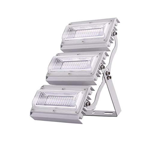 XEX LED-Flutlicht, wasserdichtes IP66-Arbeitslicht im Freien, Suchscheinwerfer für Sicherheitswand im Innenhof, Garage, Stadionbeleuchtung (Farbe : Weißes Licht, größe : 150W)