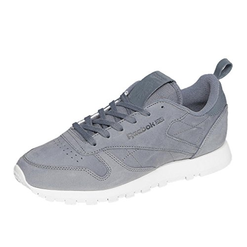 Reebok Femme Chaussures/Baskets classic Leather MN Gris