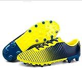 Exing Scarpe da Uomo Nuove Scarpe da Ginnastica/Ragazzi Ragazze Scarpe da Calcio per Ragazzi/Giacca da Campeggio Anti-Slip Resistenza all'Usura (Colore : E, Dimensione : 38)