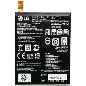 Original batterie li-ion lG bL-t16 3000 mAh pour lG g flex 2 h955–eAC62718201–bulk