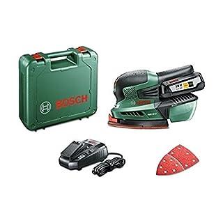 Bosch Akku Multischleifer PSM 18 LI (1 Akku,18 Volt System, im Koffer)