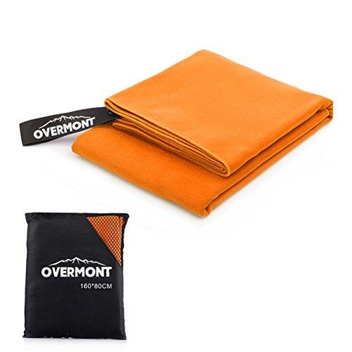 Overmont Toalla deportiva secado rápido de...