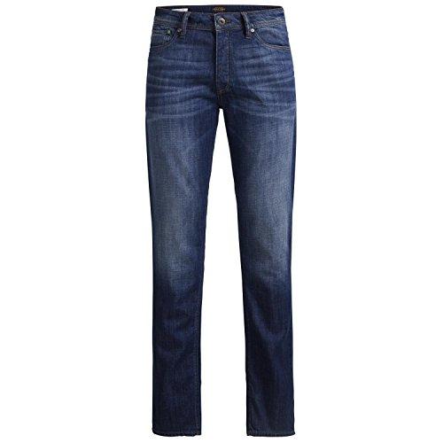 JACK JONES - Homme slim fit jeans 12116405 tim jjorigianal bleu