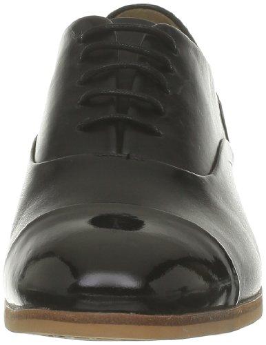 Clarks, Scarpe stringate donna nero (Noir (Black Leather))
