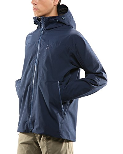 Haglöfs Tourus Jacket Men - Wasserdichte Outdoorjacke tarn blue