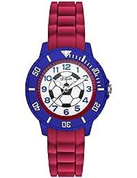 s.Oliver Jungen-Armbanduhr Analog Quarz Silikon SO-2984-PQ