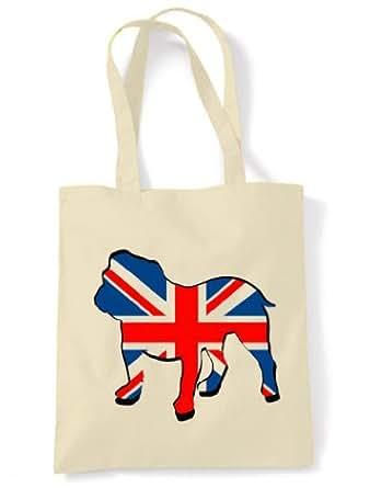 British Bulldog Union Jack Tote / Shoulder Bag
