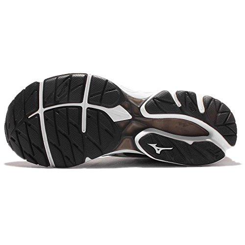 Mizuno Wave Rider 20, Chaussures de Running Entrainement Homme Black