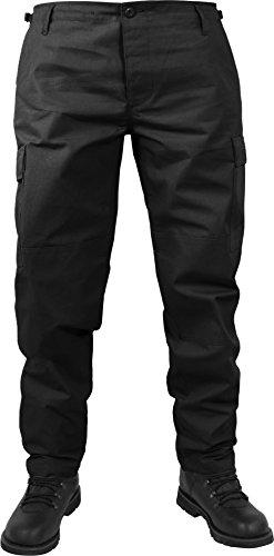 normani US Herren BDU Feldhose aus robustem Ripstop Material Farbe Schwarz Größe XL -