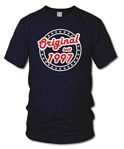 shirtloge - ORIGINAL SEIT 1997 - KULT - Geburtstags T-Shirt - in verschiedenen Farben & Größen Navy