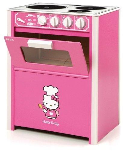 Brio 32310 - Juguetes de madera - Despertar - Cocina - Hello Kitty