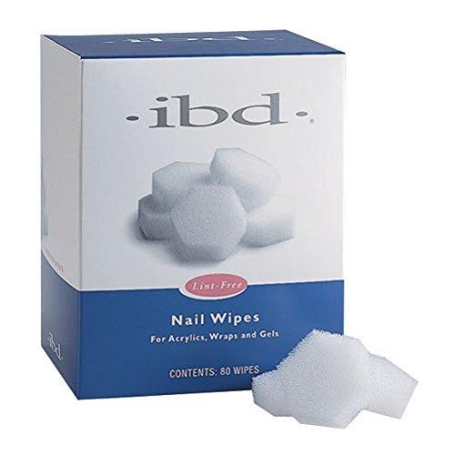 IBD Nail Wipes- Lint Free 80ct by IBD (Ibd Nail Wipes)