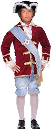 Preisvergleich Produktbild Carnevale Venizano CAV50715-XL - Kinderkostüm MARCHESE DEL GRILLO - Alter: 7-10 Jahre - Größe: XL