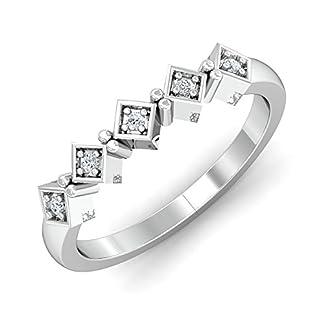 Stylori Tiara 18k White Gold and Diamond Ring