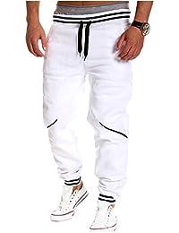 Homme Jogginghose Slim Fit Sweatpants Jogger Fitness Trainingshose